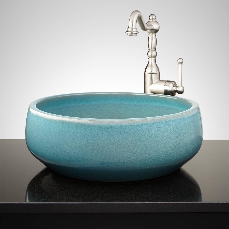 Ordinaire Ivanov Hand Glazed Vessel Sink