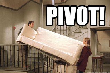 Pivot Friends Meme