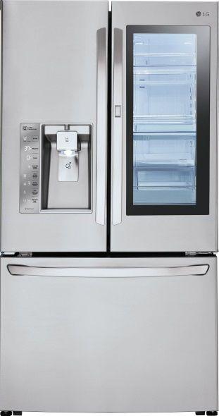 Samsung French Door Refrigerators Vs Lg French Door Refrigerators Goedeker S Home Life Samsung Refrigerator French Door Lg French Door Refrigerator Tempered Glass Shelves