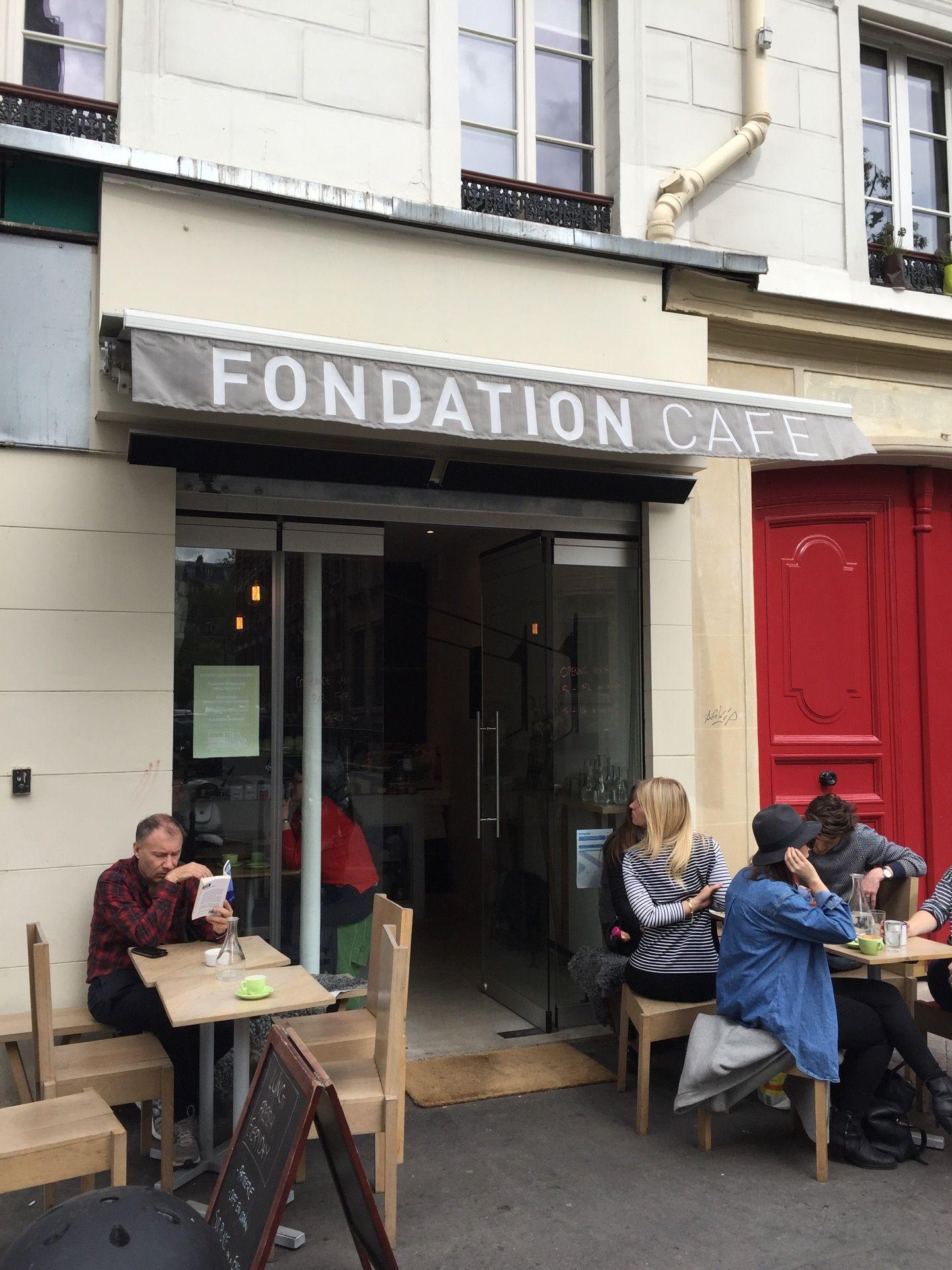 Fondation Café in Paris, ÎledeFrance Lost in Cheeseland