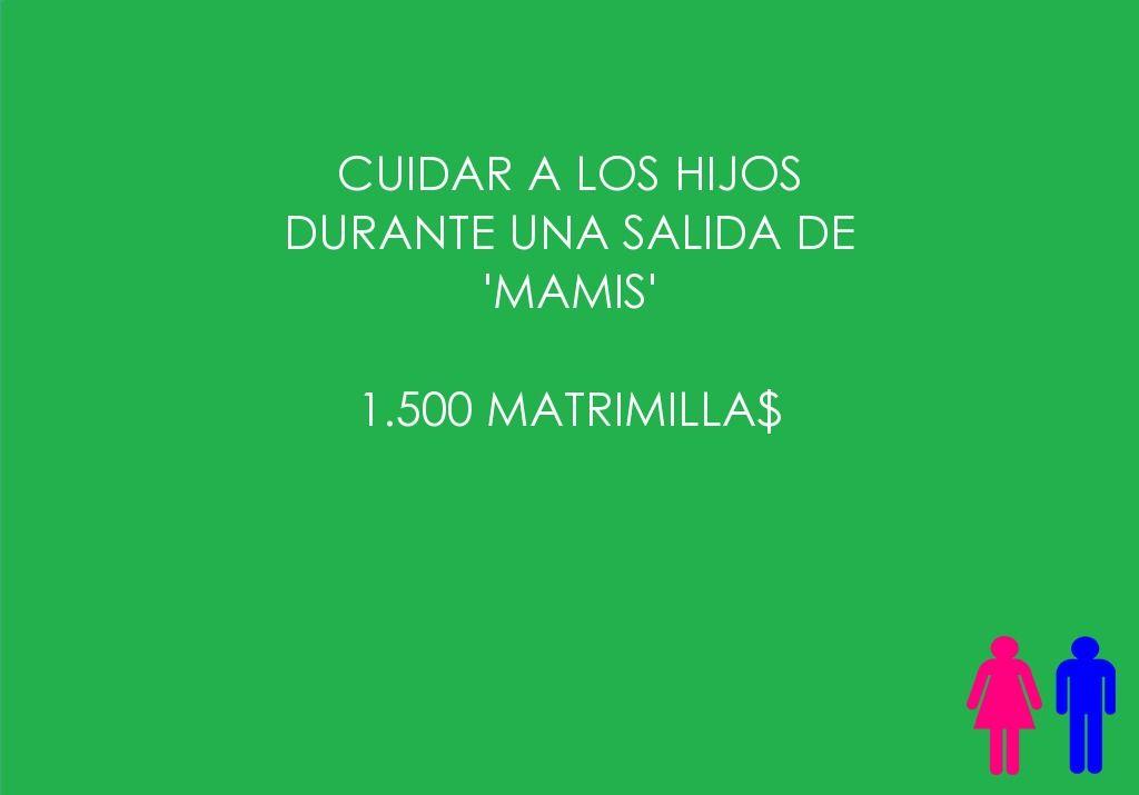 Cuidar a los hijos durante una salida de 'Mamis'    1.500 Matrimilla$  #toquedehumor #hombre
