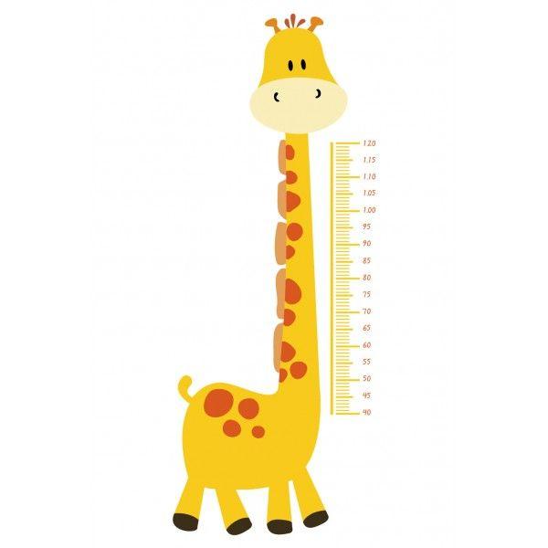 Medidor de altura para bebe arte pintura metro - Altura cambiador bebe ...