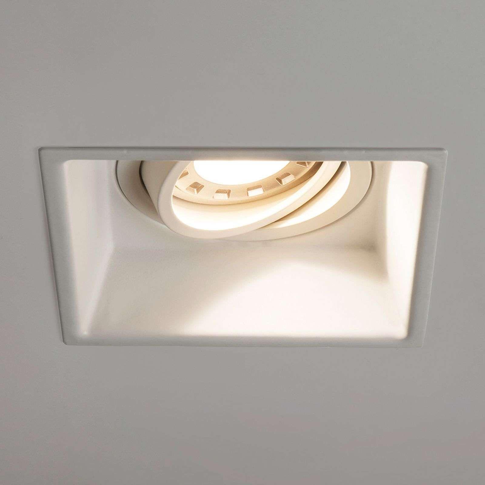 Astro Minima Square Adjustable Lampe Blanche Spot Encastrable Eclairage Moderne Lampe