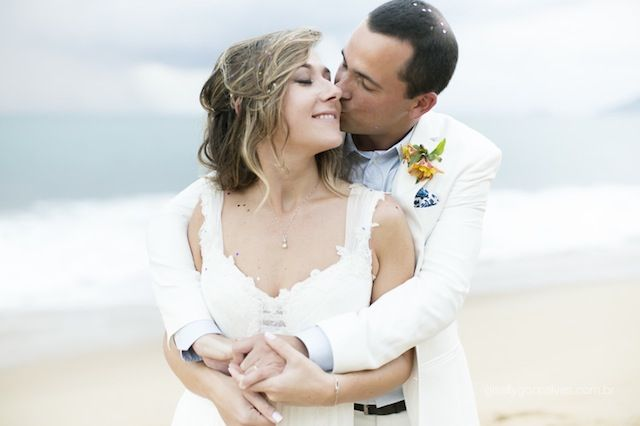 Casamento na Praia | Bárbara   Hugo Hair by Grazi Almeida Make Wagner Ribeiro Agencia Um Ponto Oito