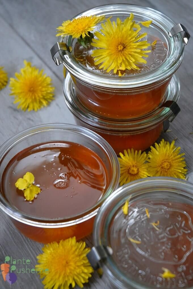 This Vegan Honey Is Made With Dandelions And Apples Peta Honey Recipes Dandelion Recipes Recipes