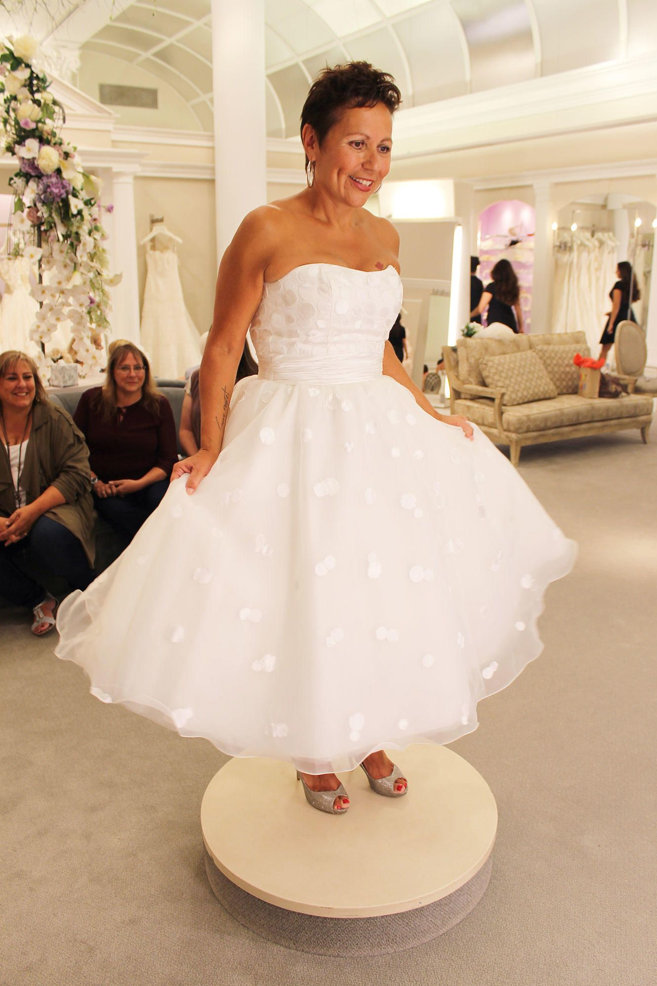 Tlc Official Site Polka Dot Wedding Dress Wedding Dresses Cute Wedding Dress