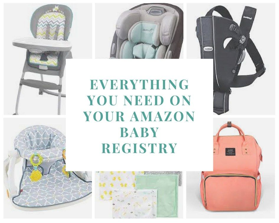 Amazon Baby Registry Must Haves   Amazon baby, Baby ...