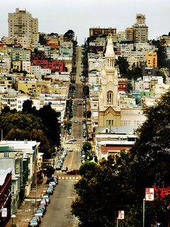 Filbert Street, San Francisco.