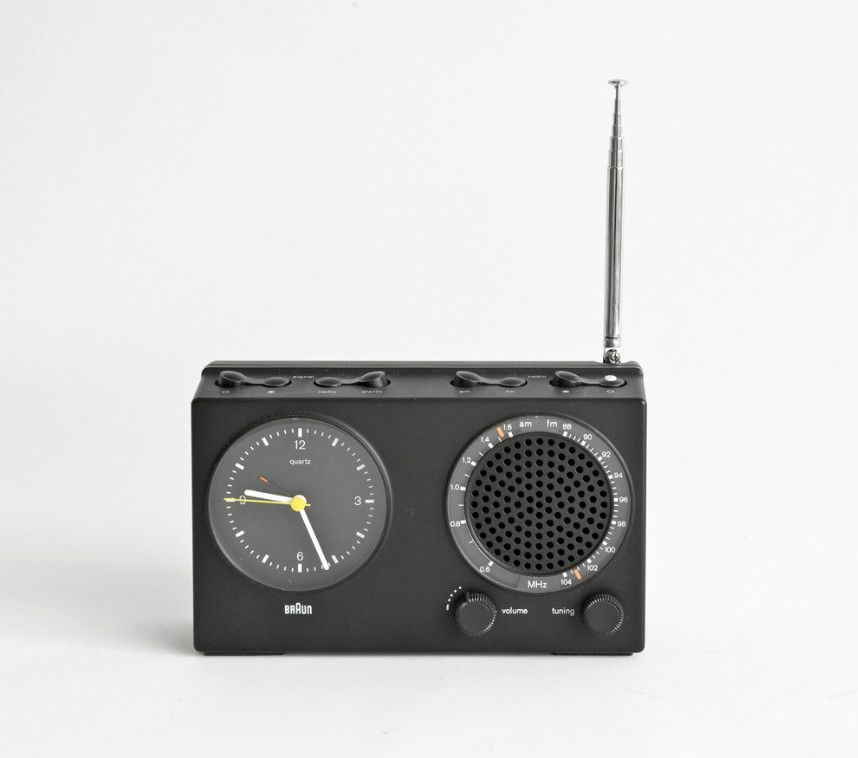 Le Industrial Design le bon design dieter rams braun radio braun abr 21 收音机 博朗