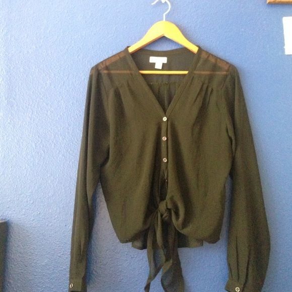 See threw fancy long sleeve Nice for going or maybe layering American Vintage Tops Blouses