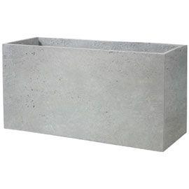 Pot Cube Gypse 80 X 28 Cm Smack Toit Terrasse Pinterest Cube