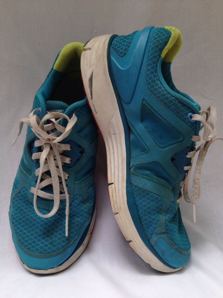 abrigo Montañas climáticas moral  NIKE LUNARLON DYNAMIC SUPPORT BLUE GREEN WHITE RUNNING TENNIS SHOES SZ 6Y # Nike #Athletic | Running tennis shoes, Shoes, Kids shoes