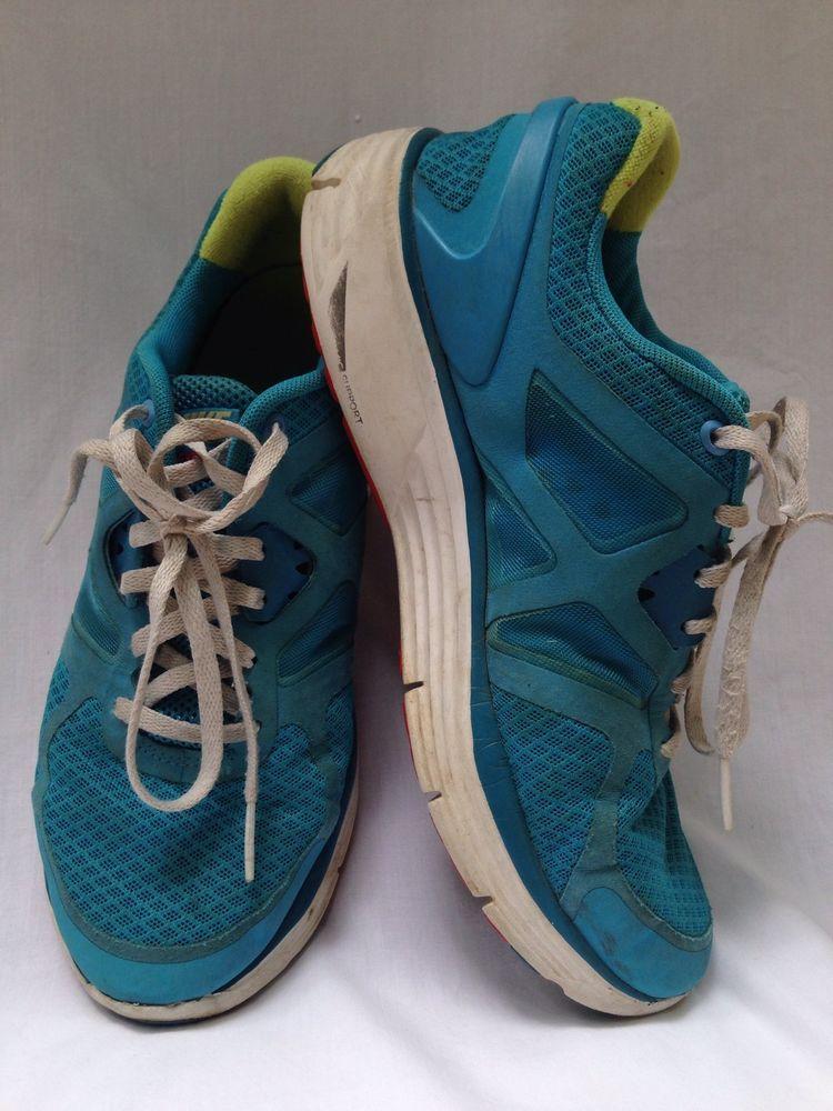 acquoso autostrada semplicemente  NIKE LUNARLON DYNAMIC SUPPORT BLUE GREEN WHITE RUNNING TENNIS SHOES SZ 6Y # Nike #Athletic | Running tennis shoes, Shoes, Kids shoes