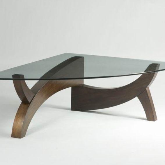 Bespoke Glass Coffee Tables: Custom Made Mantis Coffee Table