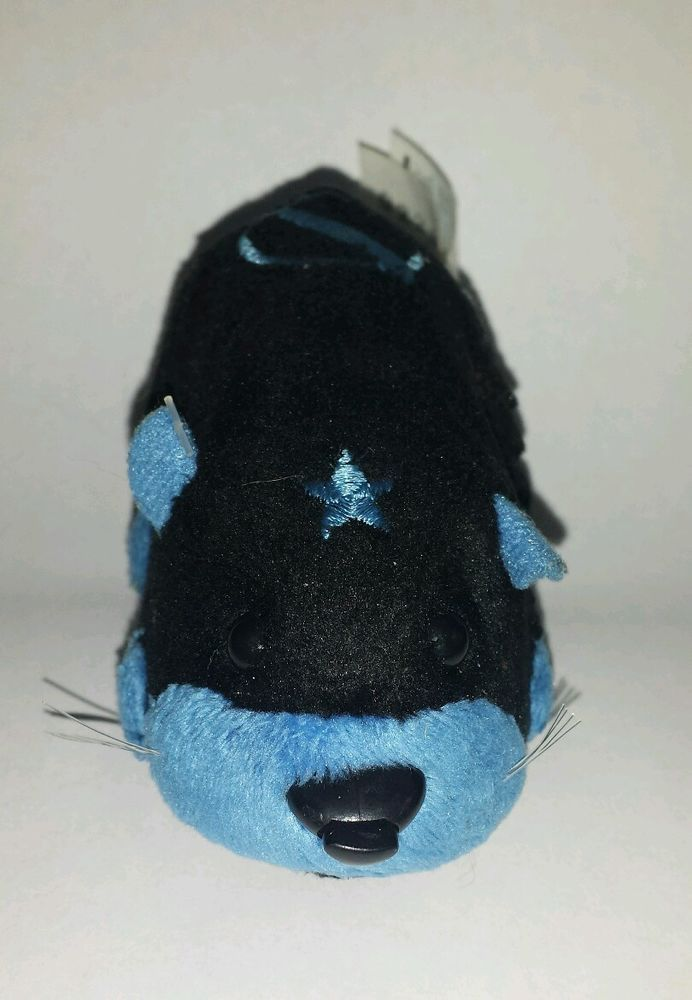 Zhu Zhu Pet Hamster Stonewall With Tag Tested And Working Blue