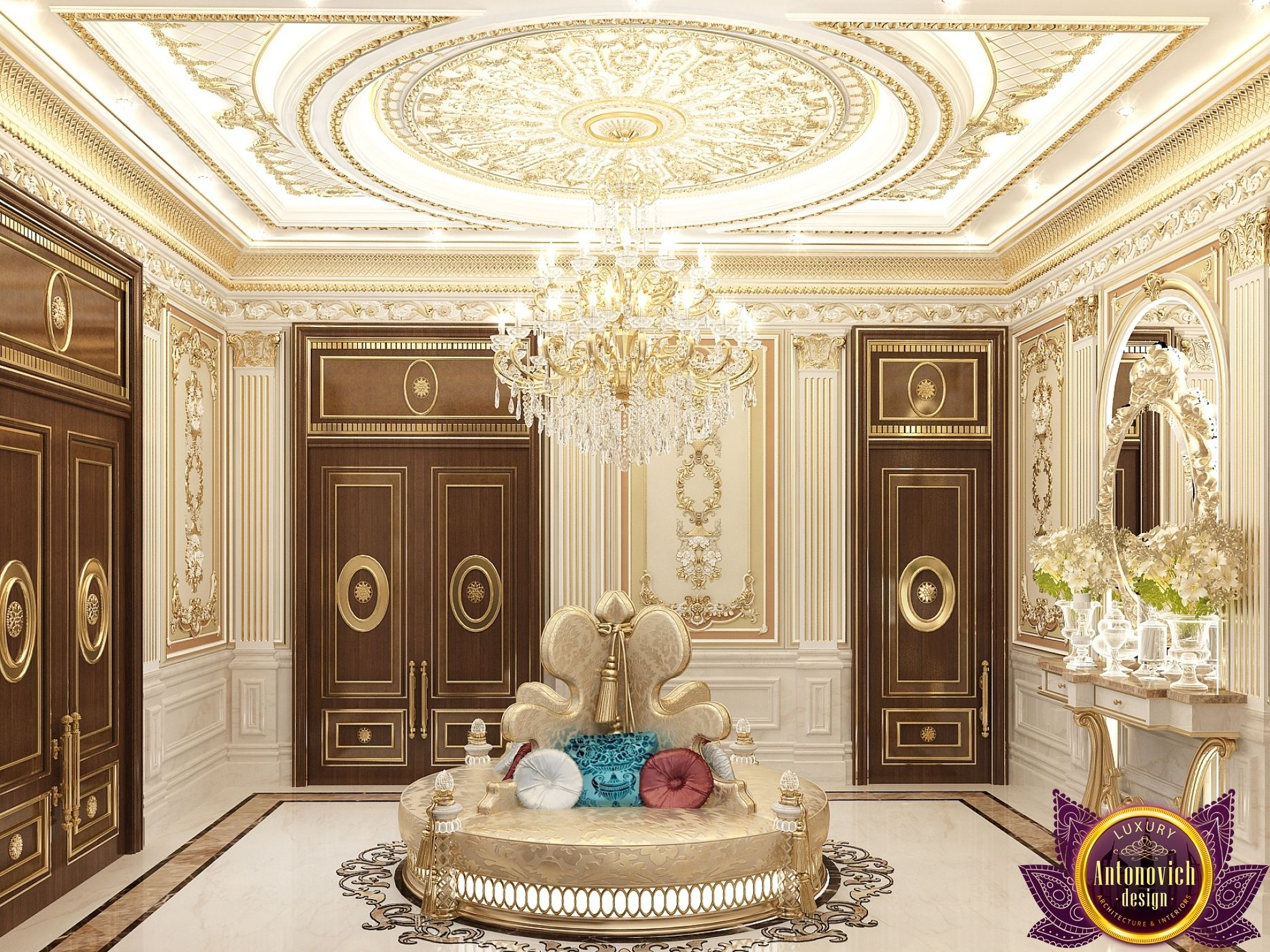 in Dubai Classical hall Design