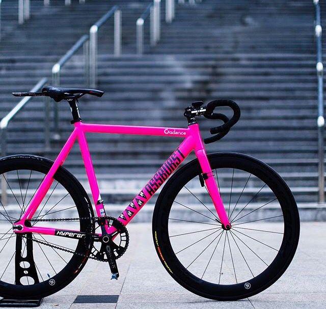 Cleta Pink Fixed Bike Track Bike Fixed Gear Bike