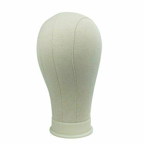 22Training Head Cork Canvas Head Block Wig Display Wig Making Head with Free Ta #Ad , #SPONSORED, #Cork#Canvas#Head