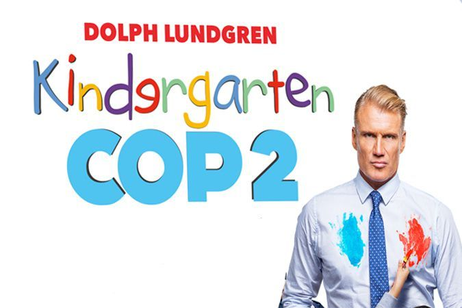 Kindergarten Cop 2 Trailer Comedy Movies Kindergarten Movies