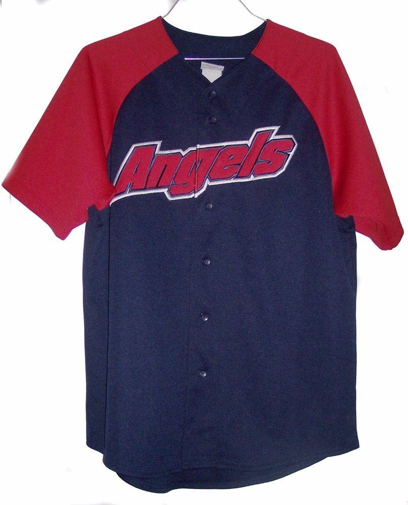 bff3daadd Los Angeles Angels Baseball Jersey Men s Large by Majestic