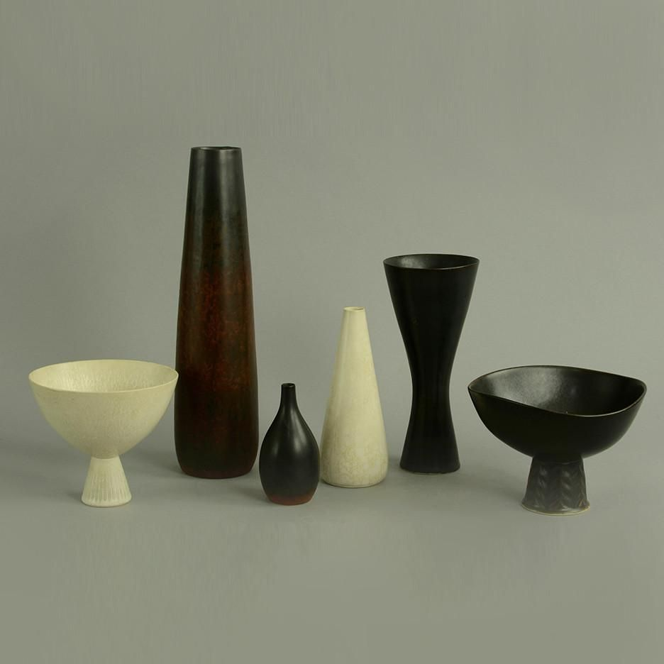 Six items by Carl Harry Stålhane for Rörstrand   Functional
