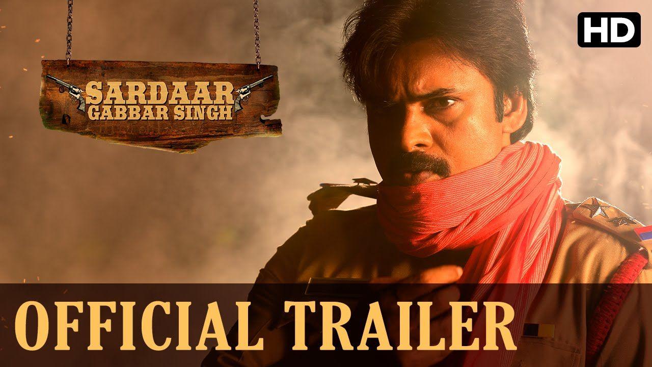 Guns guts and love superstar pawan kalyan is here in his latest avatar watch the official hindi trailer for sardaar gabbar singh