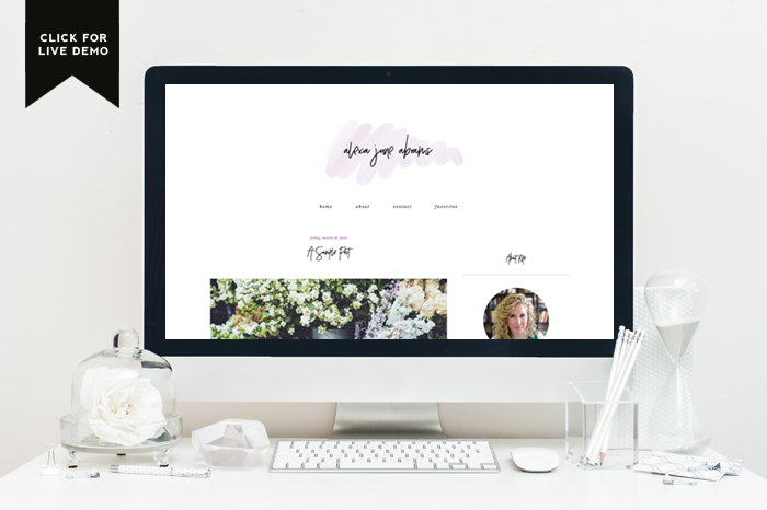 Designer Blogs demi |anna - blog design | blogger templates - designer blogs
