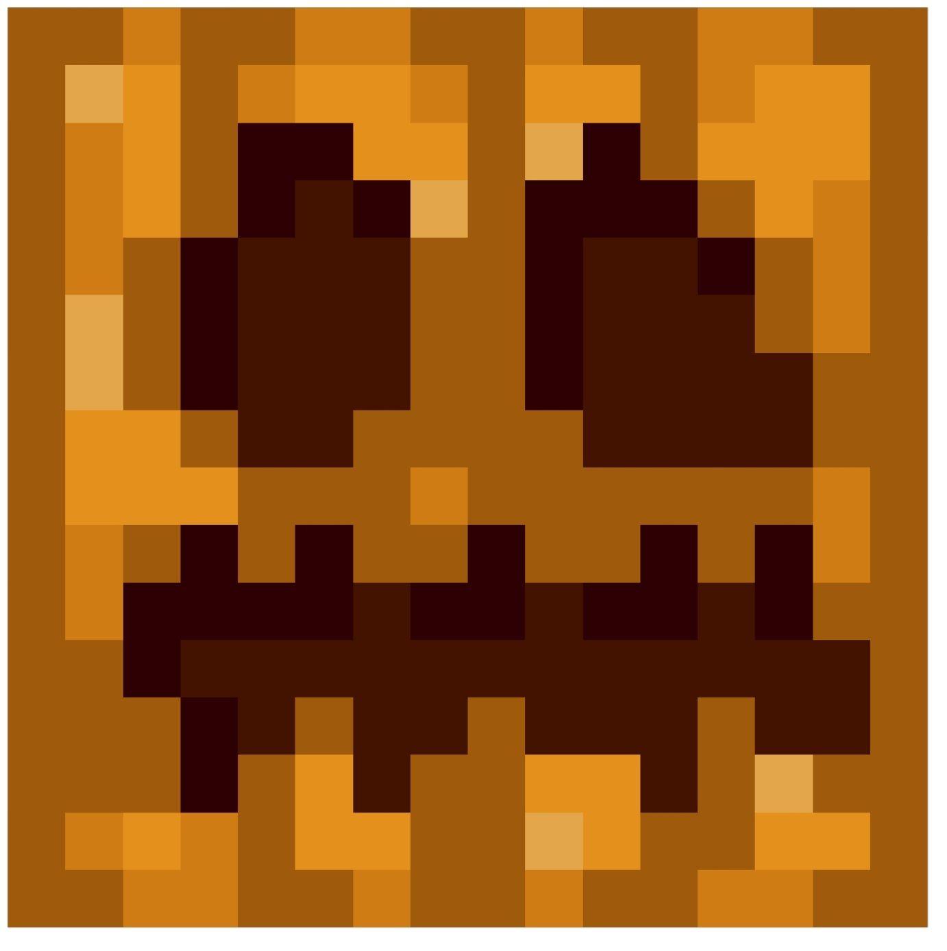 Minecraft Zombie Head Pixel Art Micro Usb B