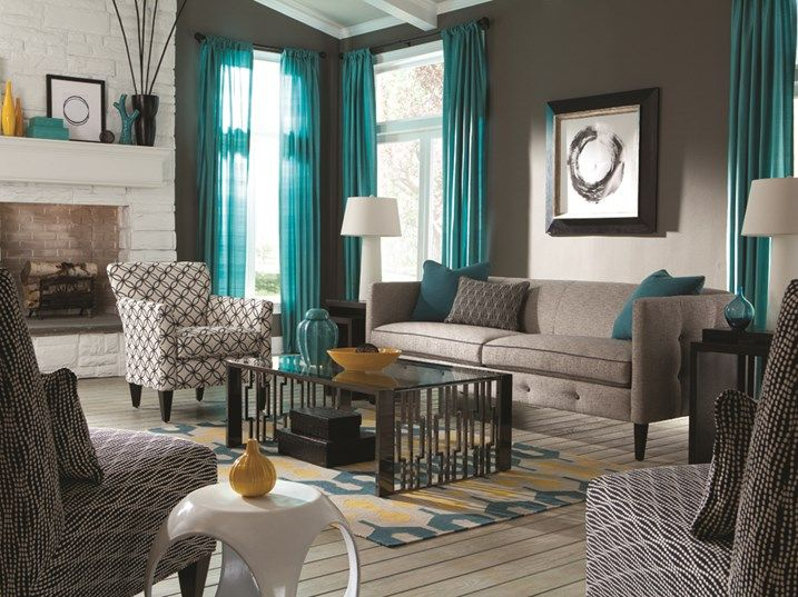 21 cozy living rooms design ideas room colors living for Living room color ideas for small spaces