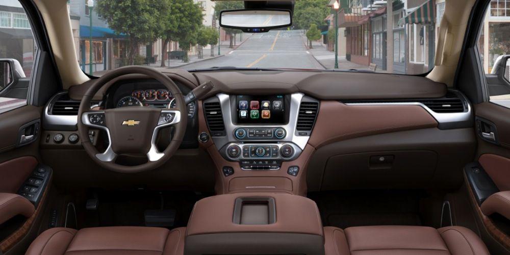 Chevrolet Unveils 2015 Tahoe 2015 Suburban Chevy Tahoe Chevrolet Tahoe Interior 2015 Chevy Tahoe