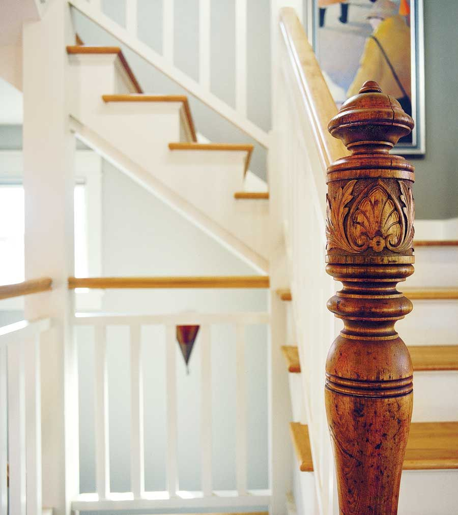 Beautiful Interior Staircase Ideas And Newel Post Designs: Salvage Secrets: Designing And Building With Reclaimed