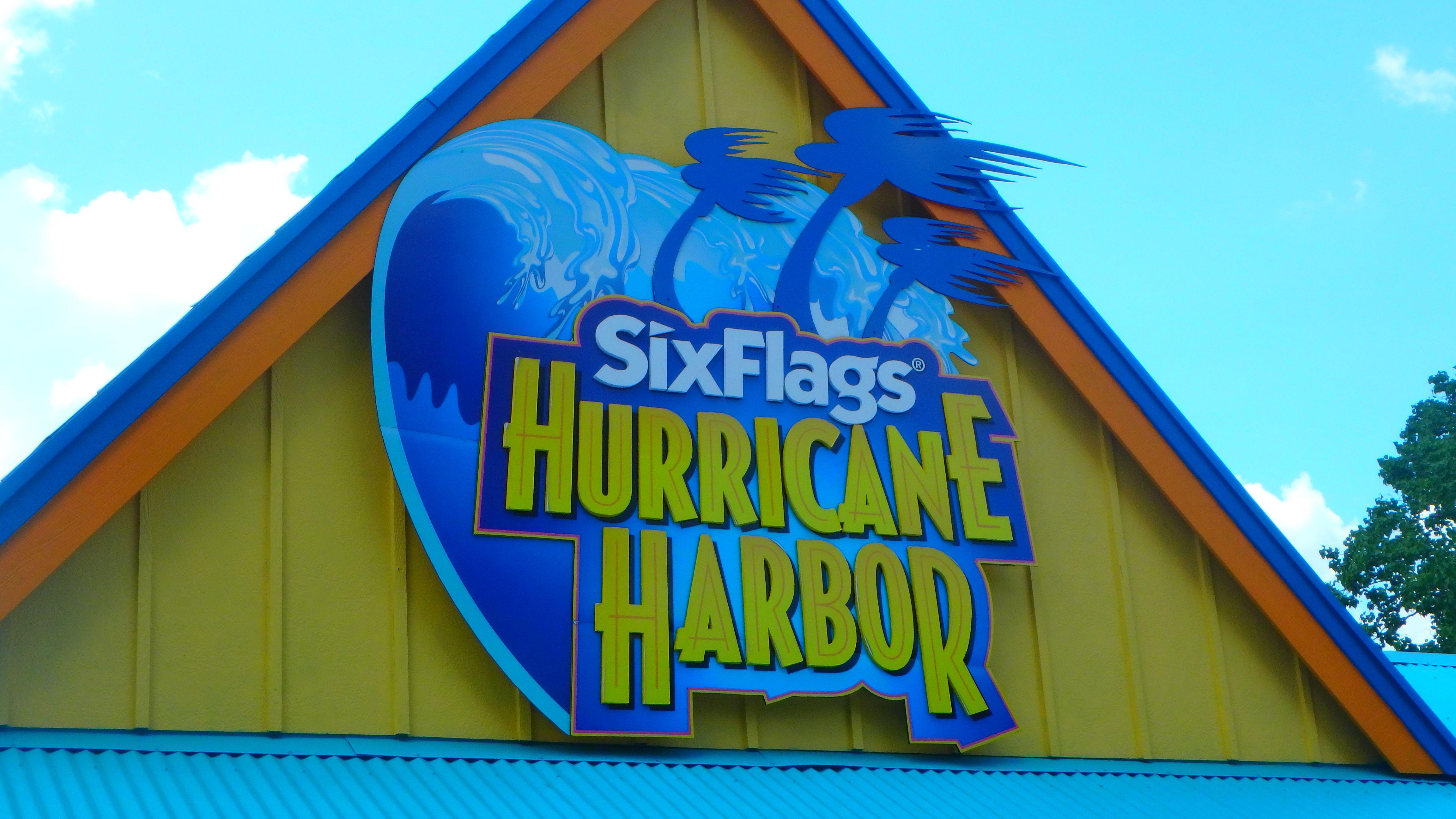 Hurricane Harbor Splashtown Hurricane Harbor Neon Signs Harbor