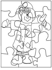 Menta Más Chocolate - RECURSOS y ACTIVIDADES PARA EDUCACIÓN INFANTIL: Puzzles de OTOÑO