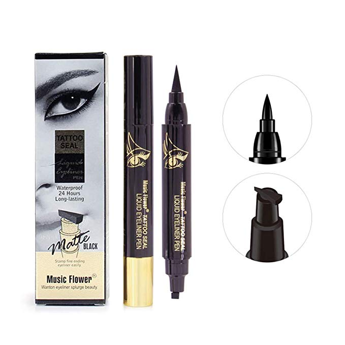 Official Eyeliner Winged Stamp Pen Tattoo