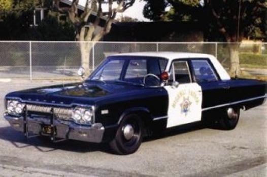 1965 Dodge Polara, California Hwy Patrol   Mopar   Old