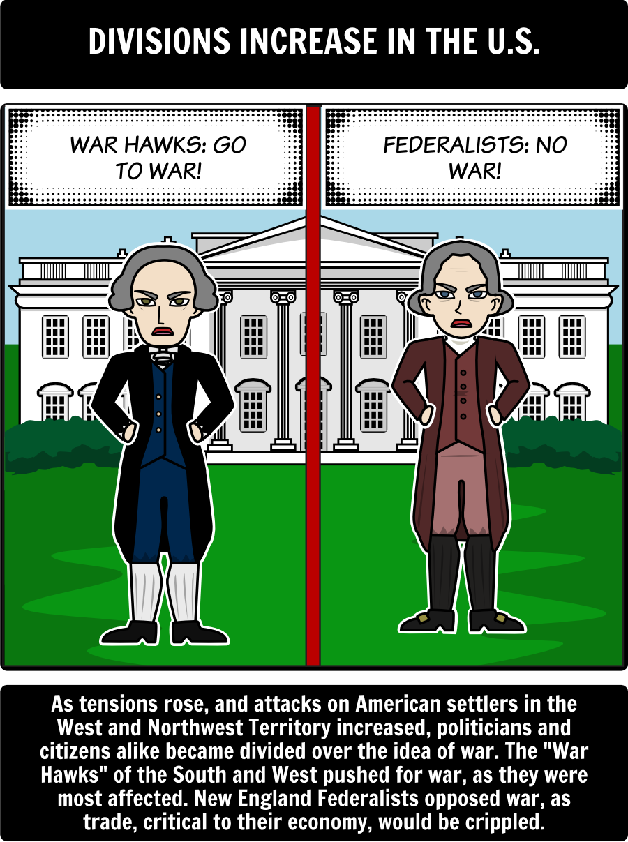 War of 1812 - Causes of the War of 1812: In this activity, students will  create a timeline storyboard to outline and explain the major causes of the  War of ...