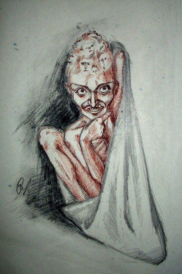 Schizophrenia by marchetooo | Zeichnen, etc. | Pinterest ...
