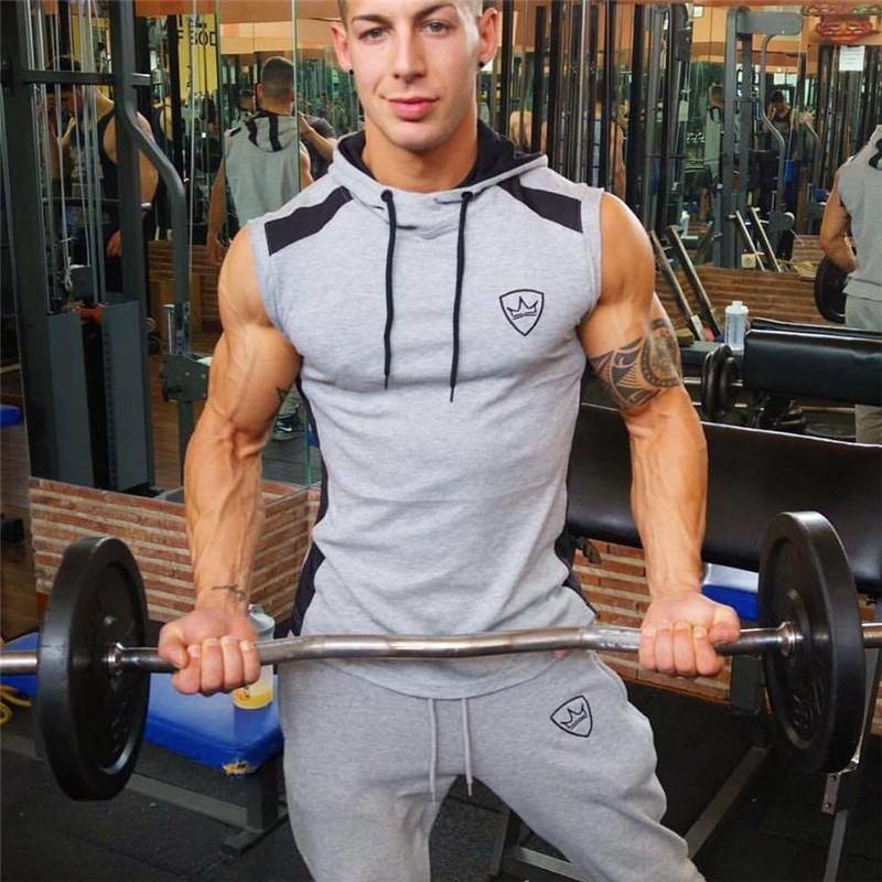 Men Gyms Hoodies Gyms Fitness Bodybuilding Sweatshirt Crossfit Pullove Myshoponline Com Mens Workout Clothes Gym Wear Men Gym Men