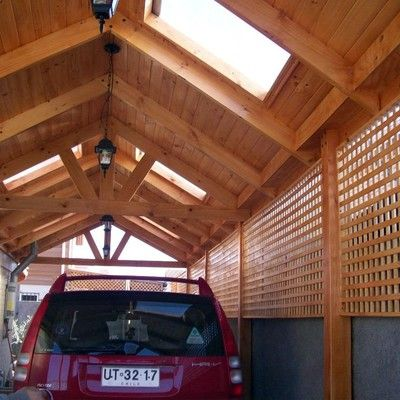 Resultado de imagen para cobertizo de madera quincho for Casas con cobertizos