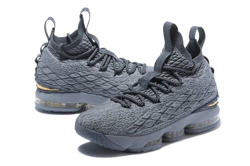 45d18dd12901 Various Styles Nike Lebron 15 XV City Series Wolf Grey Metallic Gold 897648  005 Mens Basketball