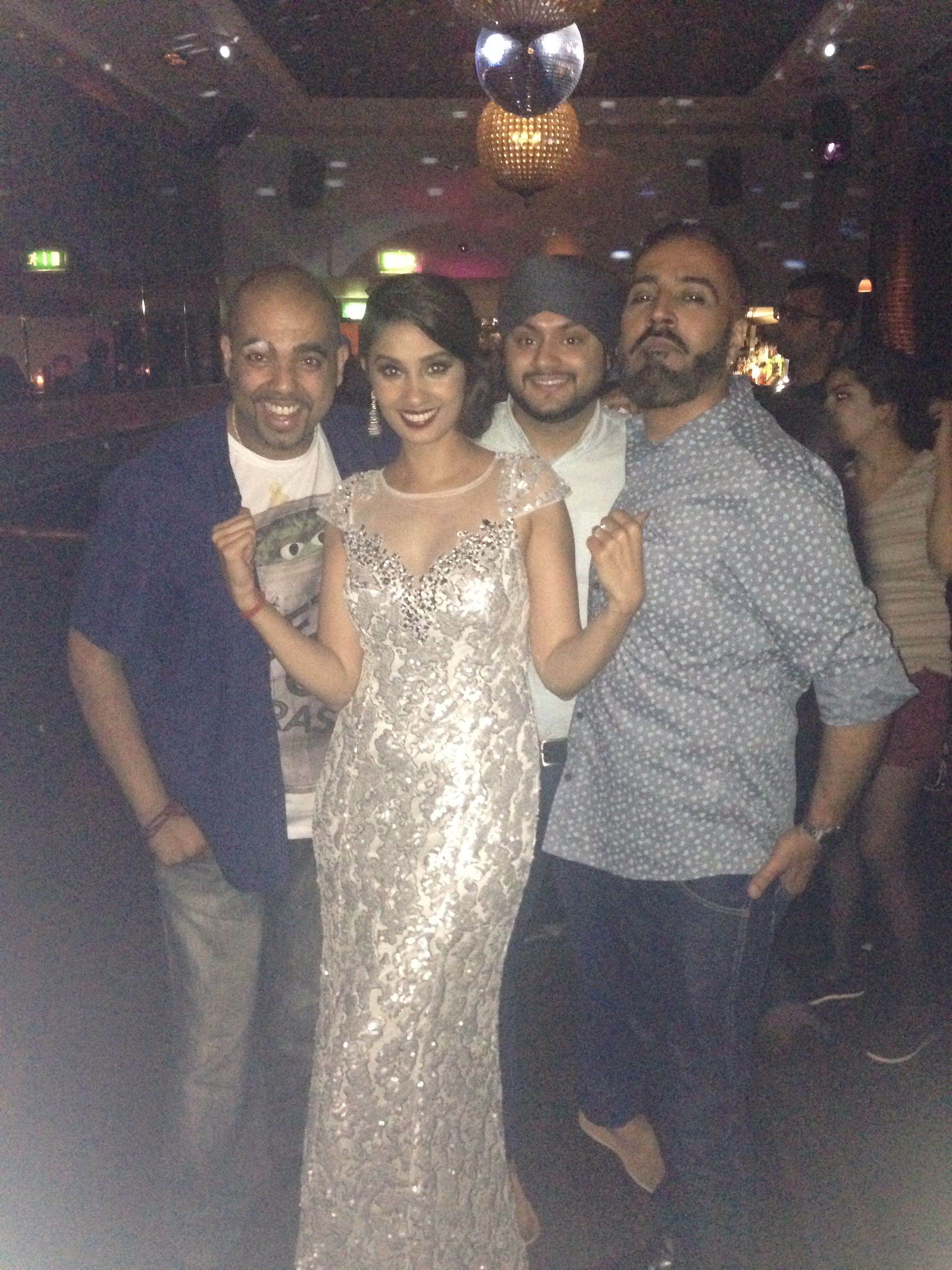 Sunny and Shay at the London Indian film after party!! www.sunnyandshay.co.uk
