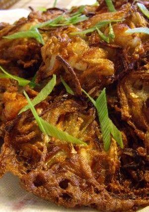 Ukoy – Filipino Potato Fritters