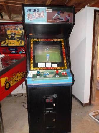 For Sale : Vintage Arcade Game, Konami Bottom of the Ninth ...