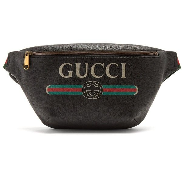 cd15c6440ba Gucci Vintage-logo leather belt bag ( 1