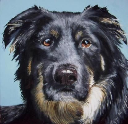 Contemporary Pet Paintings Modern Custom Pet Portraits By Hollycesprettypets On Things I L Pet Portraits Custom Pet Portraits