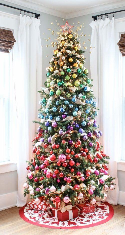 72 Modelos De Arvore De Natal E Dicas Para Te Inspirar Natal