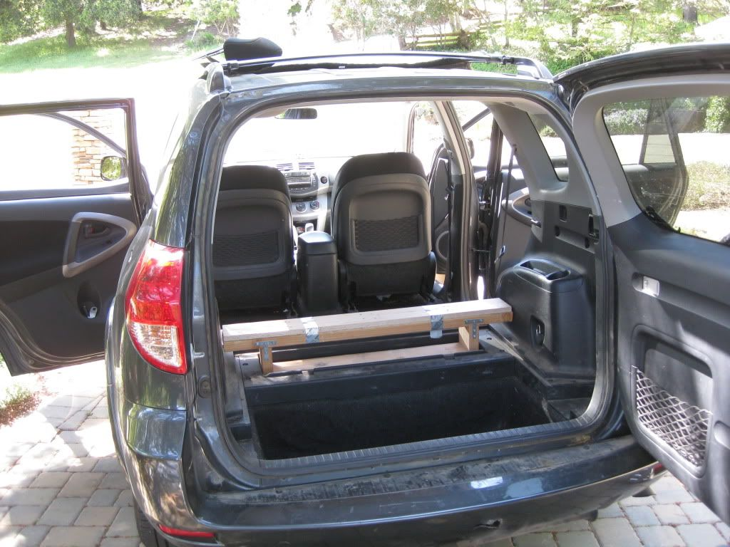 Has anyone built a car bed inside their Rav4 for c&ing? - Toyota RAV4 Forums & Has anyone built a car bed inside their Rav4 for camping? - Toyota ...