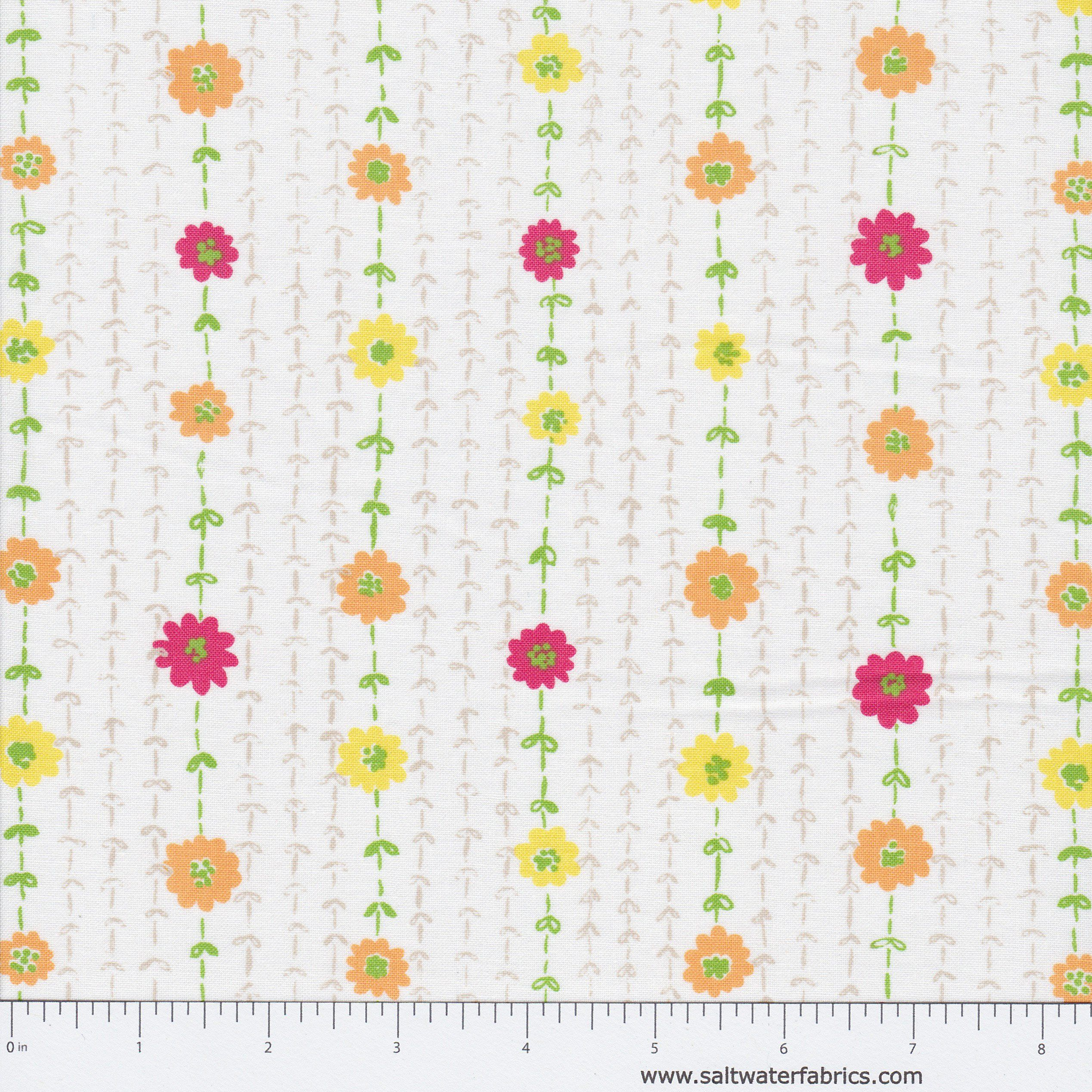 c040152ff2fc8 Savannah - Floral Stitch in White   Products   Savannah chat, Floral ...
