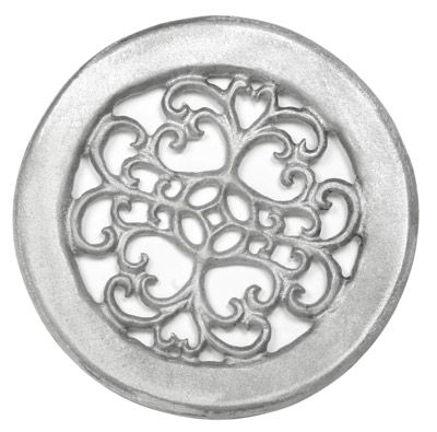 Urban Grill 8 Inch Round Aluminum Grill Wall Vent Covers