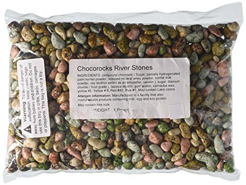 Chocolate River Stones (1lb Bag)